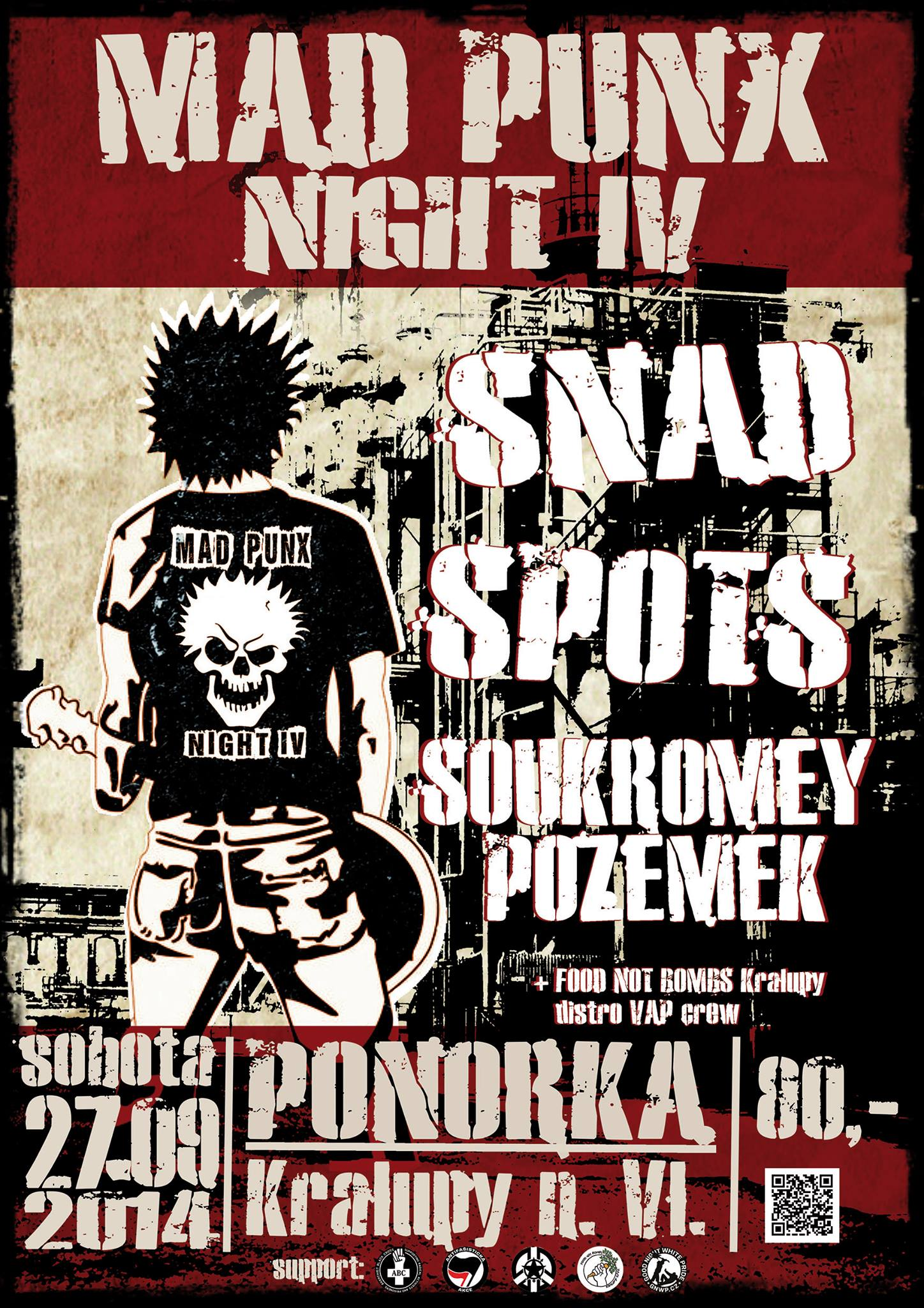 plakát Mad Punx Night IV